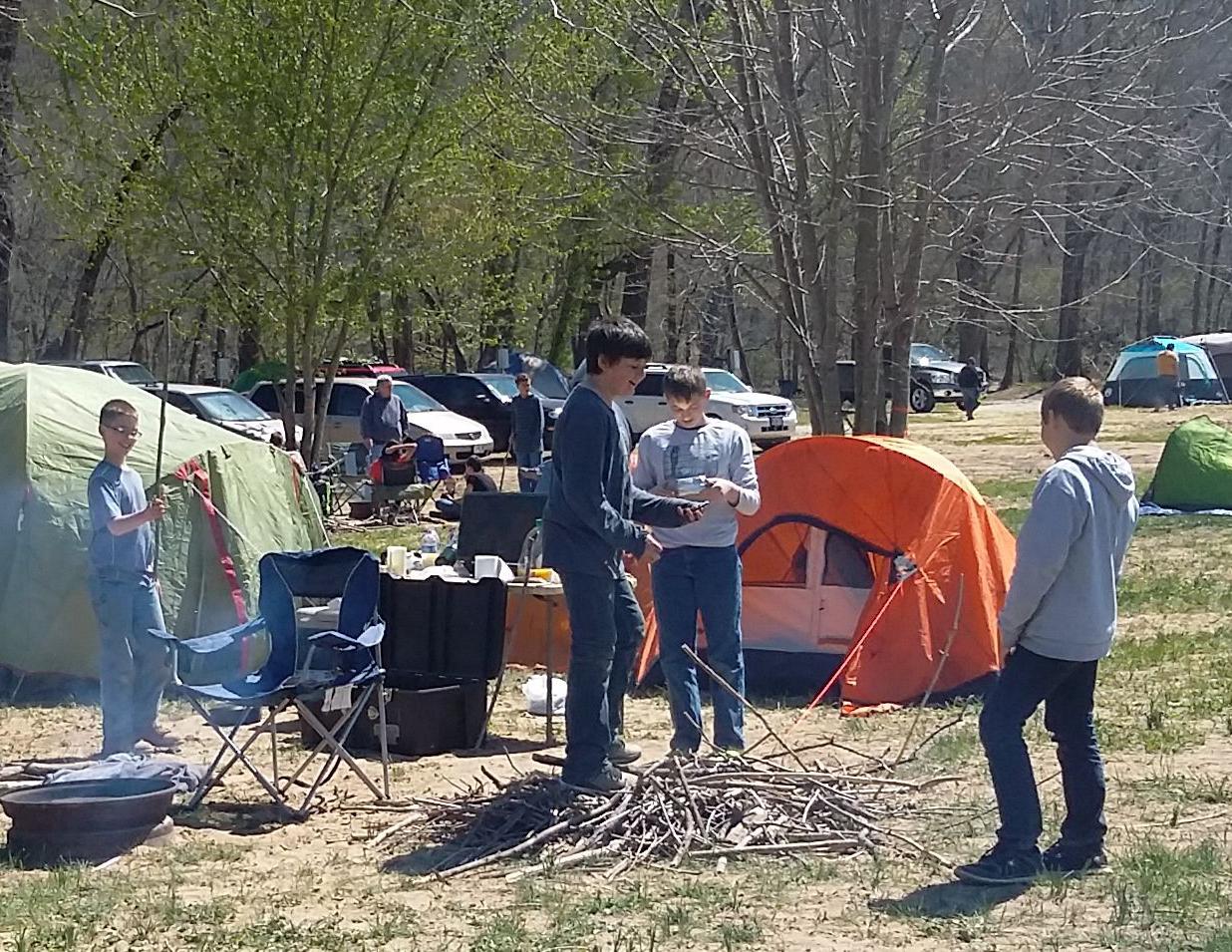 full hookup campingar i Missouri Varför gick du med dejtingsajt